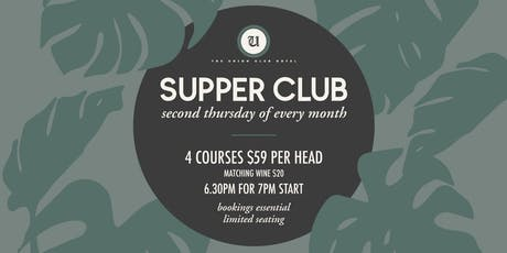 Supper Club 4 tickets