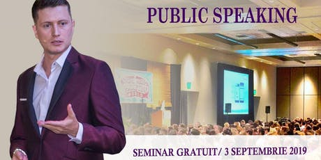Introducere în Public Speaking tickets