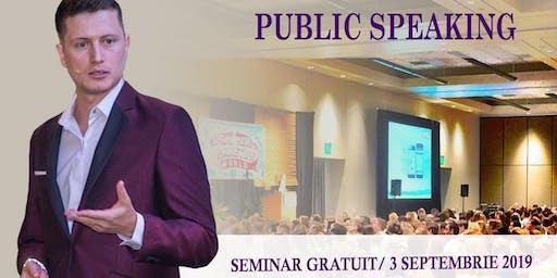 Introducere în Public Speaking