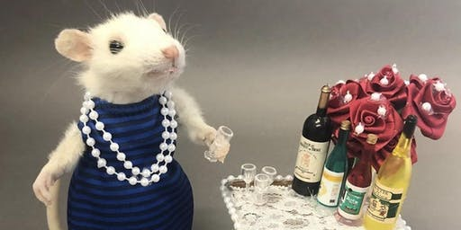 Atlas Obscura Society Los Angeles: Cocktail Party Mouse Taxidermy Workshop