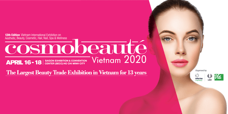 Cosmobeauté Vietnam 2020 tickets