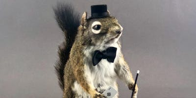 Atlas Obscura Society Los Angeles: Magician Squirrel Taxidermy Workshop