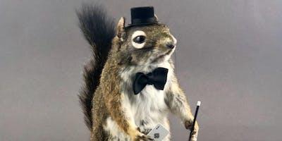 Atlas Obscura Society Los Angeles: Magician Squirrel Taxidermy Workshop