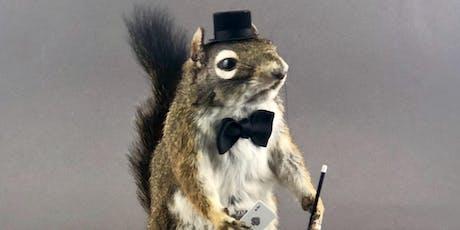 Atlas Obscura Society Los Angeles: Magician Squirrel Taxidermy Workshop tickets