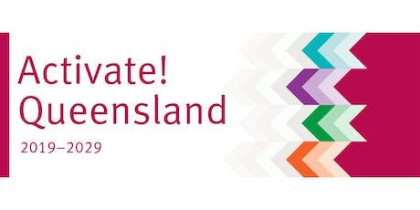 Activate! Queensland: Community Briefing - Logan tickets