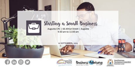 Starting a Small Business | Augusta tickets