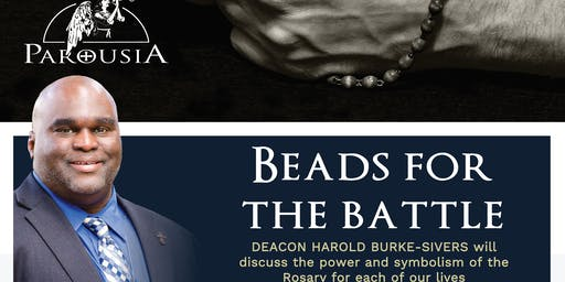 Deacon Harold: 'Beads for the Battle' Talk, St Jerome's Punchbowl 27/8/19