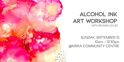 An Introduction to Alcohol Inks Workshop