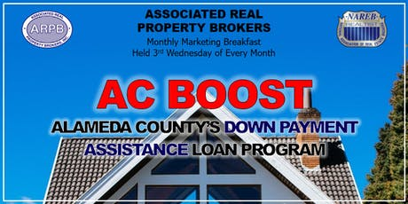 AC Boost: Alameda County's Down Payment Assistance Program tickets