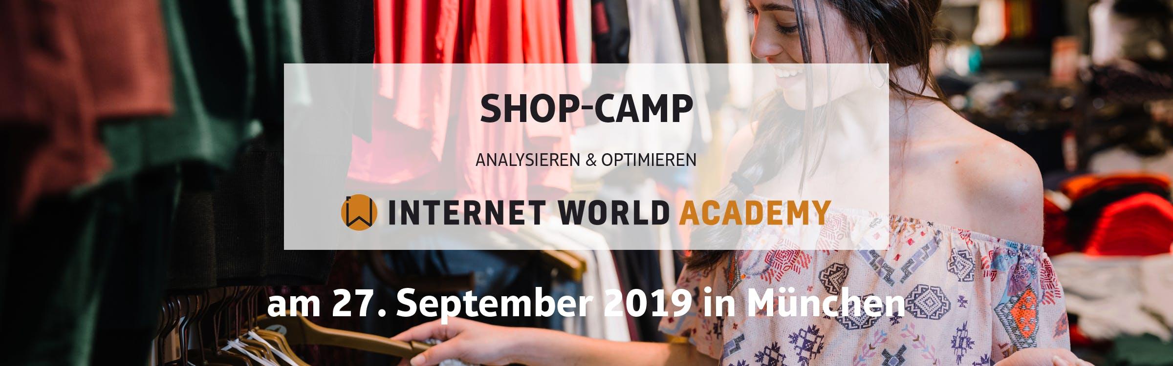 Shop-Camp: Analysieren & Optimieren