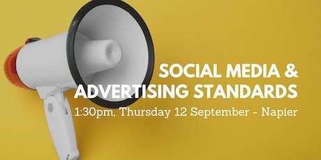 Social Media and Advertising Standards tickets