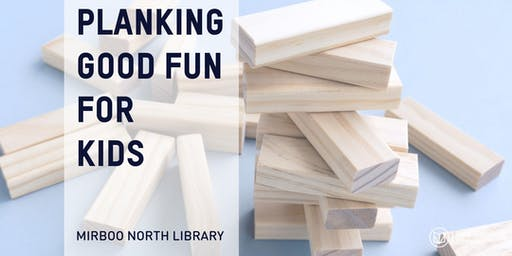 Planking good fun for kids @ Mirboo North Library