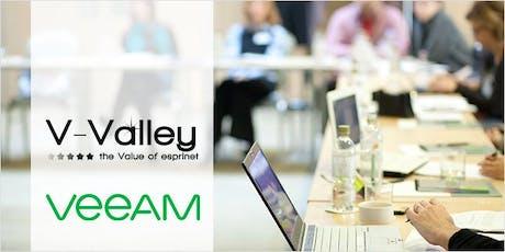Veeam Certification Day: corso per Nuove Certificazioni 9.5 Update 4 - Bari, 12 novembre 2019 biglietti