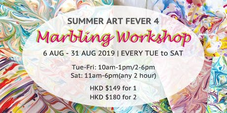 Summer Art Fever 4: Bubbly Marbly Summery Fun tickets