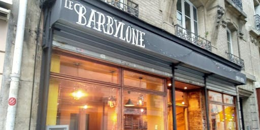 Chocolate Conservatory welcome gathering at Le Barbylone in Montmartre!