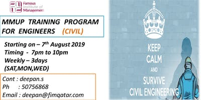 CIVIL TRAINING PROGRAM FOR MMUP EXAM