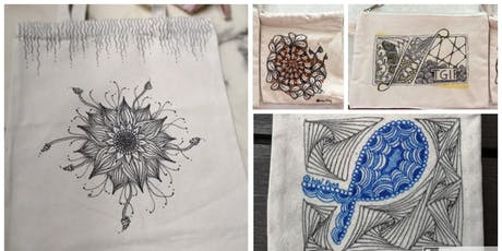 Zentangle® : Tangling Tote Bag(8 September 2019) tickets
