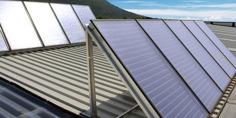 Corso su progettazione e regolazione impianti solari termici biglietti