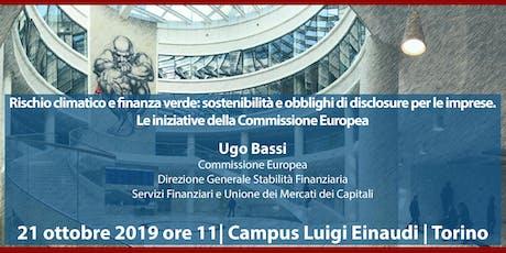 Luigi Einaudi Lecture 2019 biglietti
