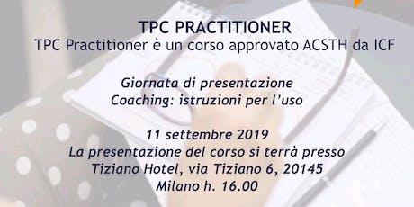 Coaching: istruzioni per l'uso  biglietti