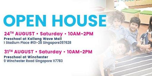 Open House at Lorna Whiston Preschool Kallang Wave Mall