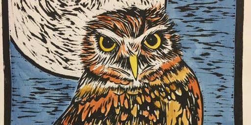 Creative Printing – Lino Block with Nik Norman SUNDAY PM
