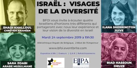 Israël :  Visages de la diversité billets