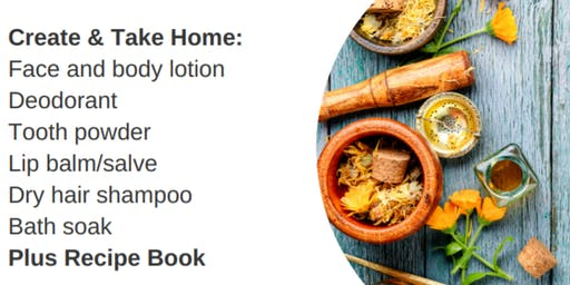 Natural Body Care Products Workshop