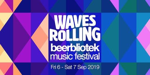 Waves Rolling Beerbliotek Music Festival 2019