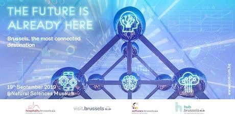 """Brussels: a connected destination"" billets"