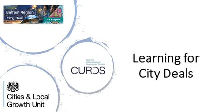 Learning for City Deals Workshop tickets