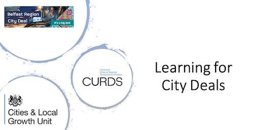Learning for City Deals Workshop