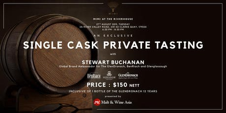 Single Cask Private Tasting (Mimi at The Riverhouse) tickets