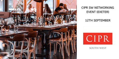 CIPR South West Links 'n' Drinks – Members Networking Event tickets