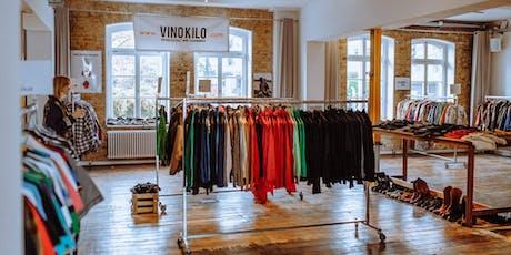 Summer Vintage Kilo Sale • Mannheim • VinoKilo Tickets