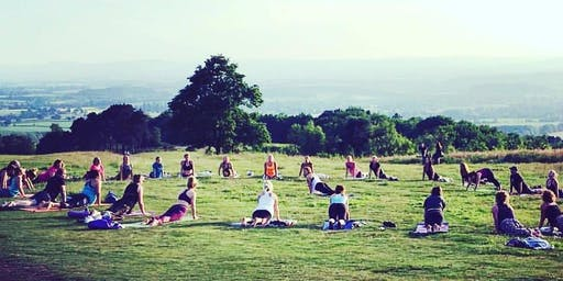 Relaxing Sunset Yoga in The Clent Hills  with Jen Honey (18th August)