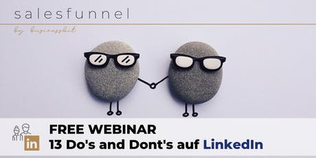 Free Interactive Linkedin-Webinar Tickets