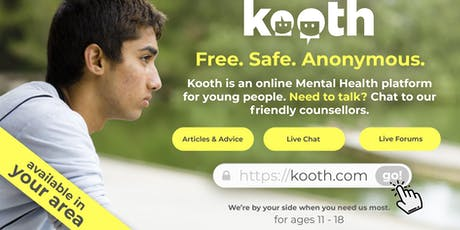 Have you heard about Kooth? tickets
