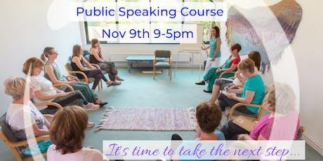 Public Speaking Course - TTT (Train the Trainer) tickets
