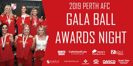 Perth AFC 2019 Gala Awards Night tickets
