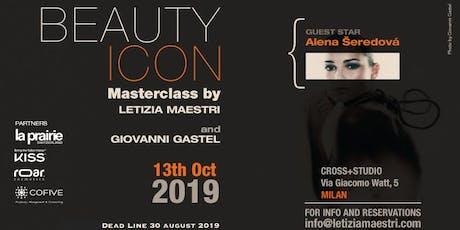 Beauty Icon Masterclass di Letizia Maestri - Milano - 13 ottobre 2019 biglietti