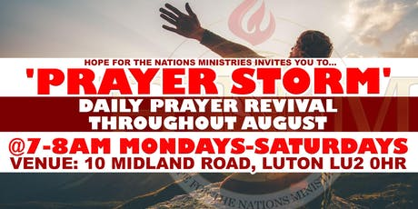 PRAYER STORM LUTON tickets