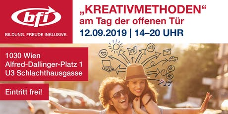Kreativmethoden – Jeder ist kreativ! | Workshop Tickets
