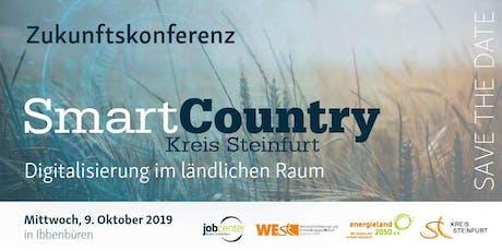 Zukunftskonferenz Smart Country Kreis Steinfurt - Digitalisierung im ländlichen Raum Tickets