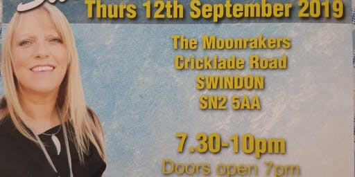 An Evening of Mediumship with the wonderful Sue Hind Thur 12/09/19 7pm-10pm