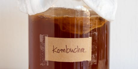 Brew your own Kombucha tickets