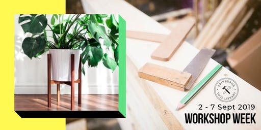 Mid-Century Modern Plant Stand Workshop