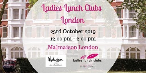 London Ladies Lunch Club - 23rd October 2019