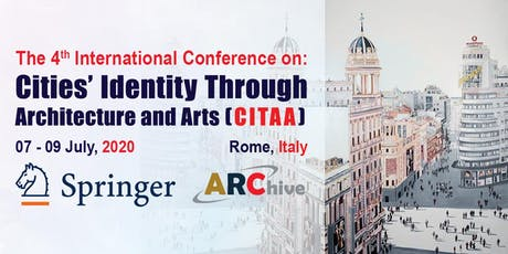 Cities' Identity Through Architecture and Arts – 4th Edition biglietti
