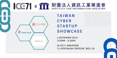 Taiwan Cyber Startup Showcase tickets